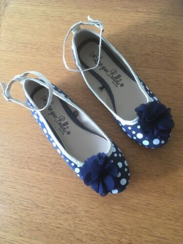 Misura Ballerina George Polka Shoes In Navy Dot 4 C6WvYq