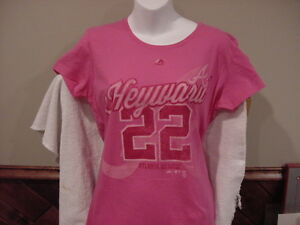 sports shoes 60909 d5b01 Details about CUTE Atlanta Braves Jason Heyward Women's Md Pink Majestic  Jersey T-Shirt, NEW!!