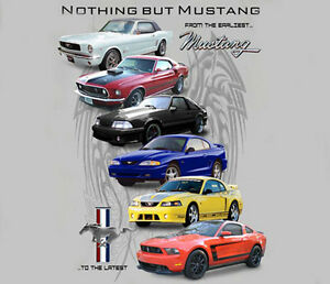 Ford-Mustang-Nothing-But-Mustang-SILVER-Adult-T-shirt