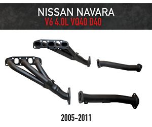 Headers-Extractors-for-Nissan-Navara-D40-4-0L-VQ40-2005-2011