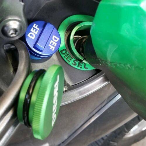 Diesel Fuel Cap /& DEF Cap Combo for 2013-2017 Dodge Ram Truck 1500 2500 3500