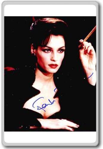 Famke Janssen Autographed Preprint Signed Photo Fridge Magnet
