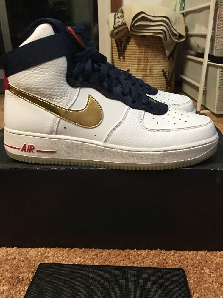 New Nike Air Force 1 High 2018 Premium 2018 Olympic Team Edition The most popular shoes for men and women