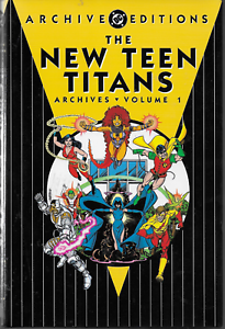 New-Teen-Titans-Archives-Vol-1-by-Wolfman-amp-Perez-HC-DC-1st-Edition-1st-Print