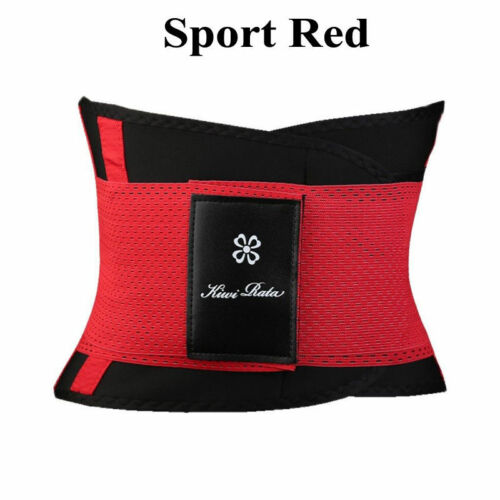 Waist Trainer Cincher Trimmer Sweat Belt Men Women Shapewears Gym Body Shaper UK