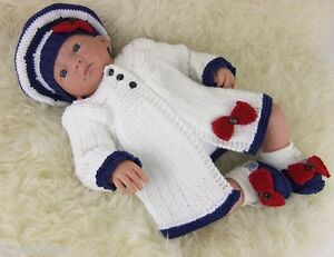 7c3d6a1b4 Baby Knitting Pattern 53 TO KNIT Matinee Cardigan Hat Shoes Girls ...