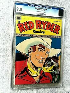 Red-Ryder-Comics-66-January-1949-Dell-CGC-9-0-Off-White-to-WHITE-pages