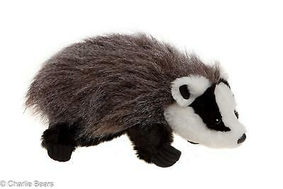 Earnest Charlie Bears Playtime Collection Cuddly Soft Dachs Badger Puppet Manufactured Bears New