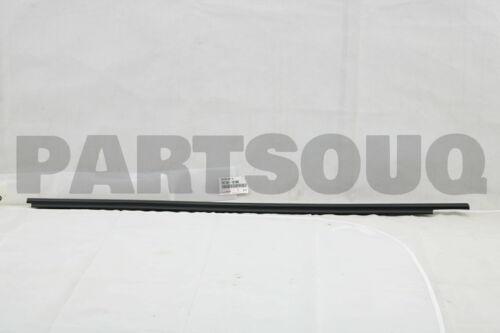 7571012780 Genuine Toyota MOULDING ASSY RH 75710-12780 FRONT DOOR BELT