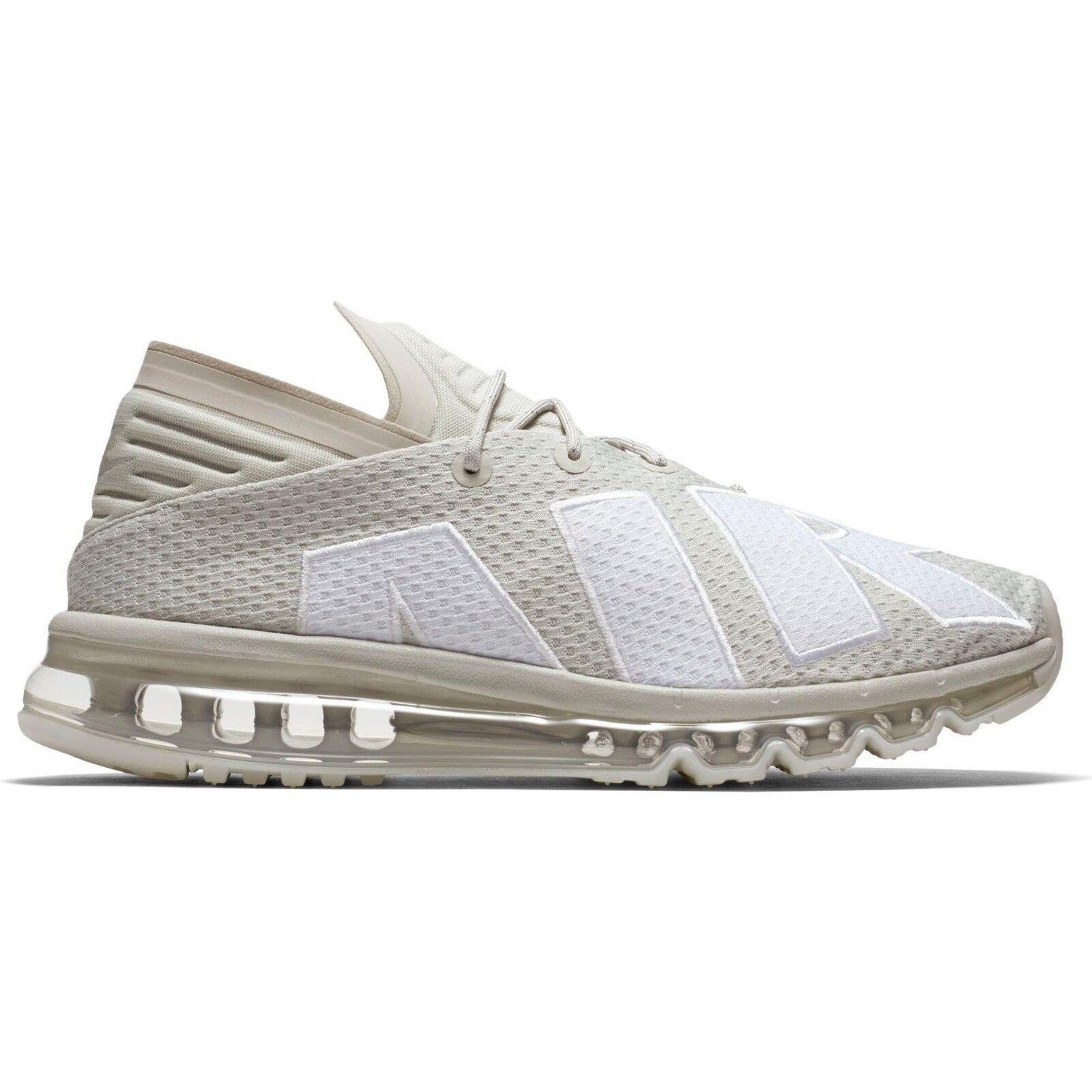 Men's Nike Air Max Flair Running Shoes, 942236 005 Sizes 9-13 Light Bone/White/G
