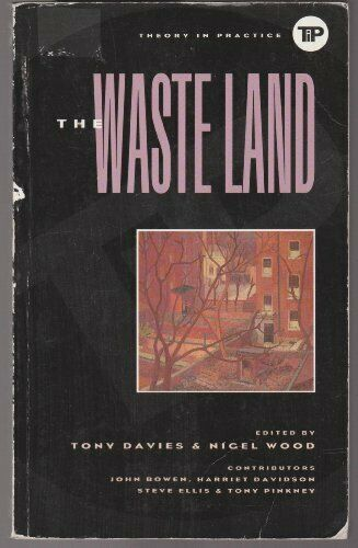 Waste Land (Theory in Practice) Paperback Book The Fast Free Shipping