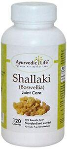 Boswellia Extract Serrata Shallaki 120 Caps 300 mg ayurvedic joint care BEST ONE