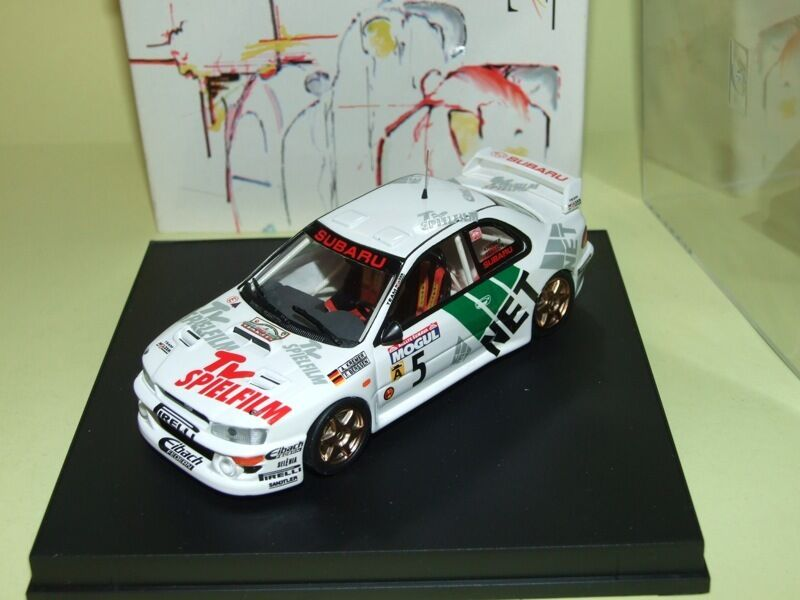 SUBARU IMPREZA WRC RALLYE SUMAVA 1998 KREMER TROFEU FIS.021 43