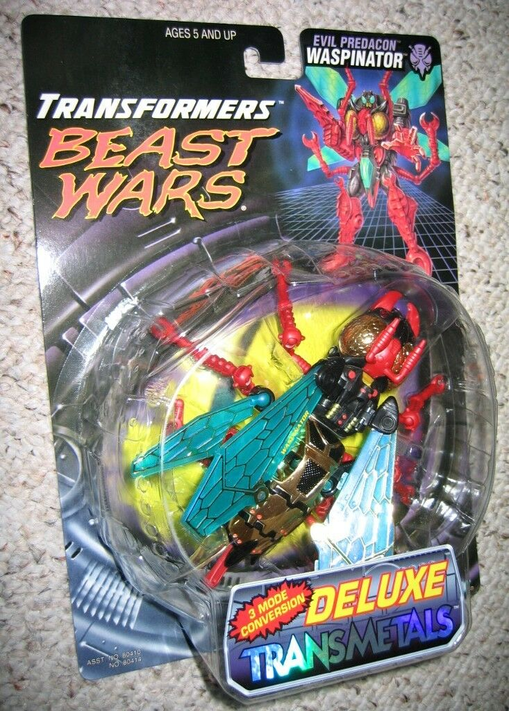 L@@K Transformers SCARCE  SEALED  Beast Wars TRANSMETAL TM WASPINATOR MOC figure