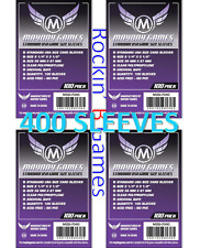 Purple Label: Standard USA Game Size Sleeves 56mmx87mm (4x100 Pack, 400 sleeves)