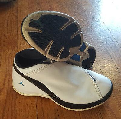 huge discount ae8cc a1d9a ireland nike air jordan jumpman team j white mens us 10 eur 44 basketball  shoes vtg