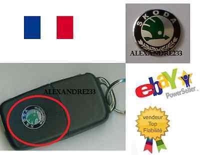 Logo Skoda Autoadesivo Per Chiave Plip Telecomando Iniziali Dell'automobile