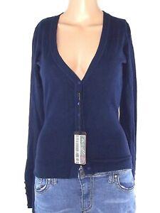 cardigan-donna-blu-lana-cashmere-taglia-s-m-small-medium