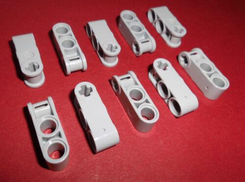 10 Kreuz//Doppelpin Verbinder,in hellgrau aus 8284 8421 9398 42003 Lego Technic