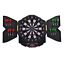 Electronic-LED-Display-12-Soft-Tip-Dart-Board-Cabinet-Set-Bar-Game-Room-Electric thumbnail 1
