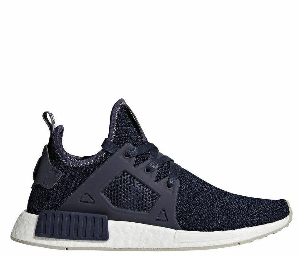 Adidas Women's Originals NMD_XR1 Running shoes Trace bluee Sesame BY9819 NEW