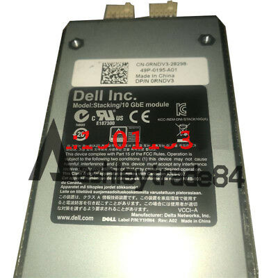 Dell 10GbE CX4 Stacking Module for PowerConnect 7000 Series Switches DP//N 0RNDV3