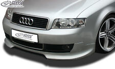 RDX Frontspoiler AUDI A4 B6 8E Front Spoiler Lippe Vorne Ansatz