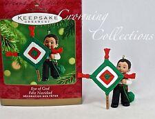 2001 Hallmark Eye of God Feliz Navidad Keepsake Ornament Ojo de Dios Folk Art