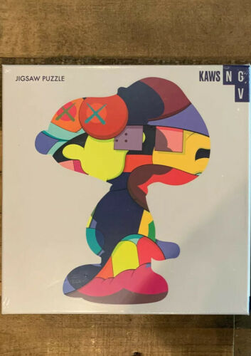 "Nouveau Exclusif kaws NGV Jigsaw Puzzle /""No one/'s home/"""