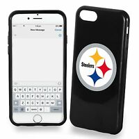 For Iphone 7 Plus Large Model Pittsburgh Steelers Tpu Soft Gel Protective Case