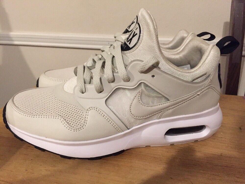 Nike air max primo scarpe da corsa degli uomini di crema bianca raro campione 876069-001 sz