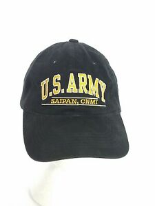 US-Army-Saipan-CNMI-Commonwealth-of-Northern-Mariana-Islands-Black-Ball-Cap-Hat