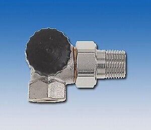 Heimeier Standard Radiateur-Vanne Corps Angle Eckform gauche