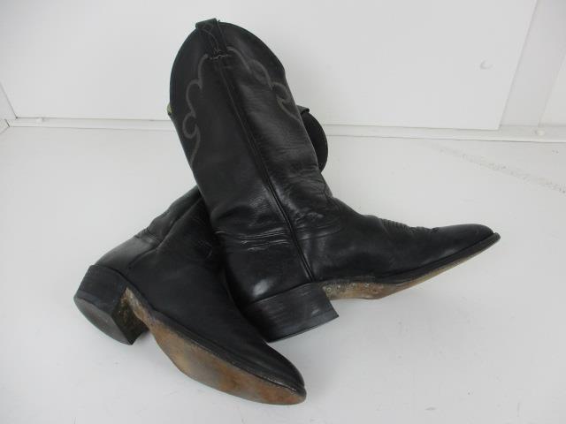 CHISHOLM da misura Uomo Cowboy JOHN/western misura da 9D BUONE CONDIZIONI REF 0418 f49422