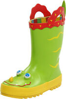 Melissa & Doug Kid's Sunny Patch Augie Alligator Rain Boots Size 12-13