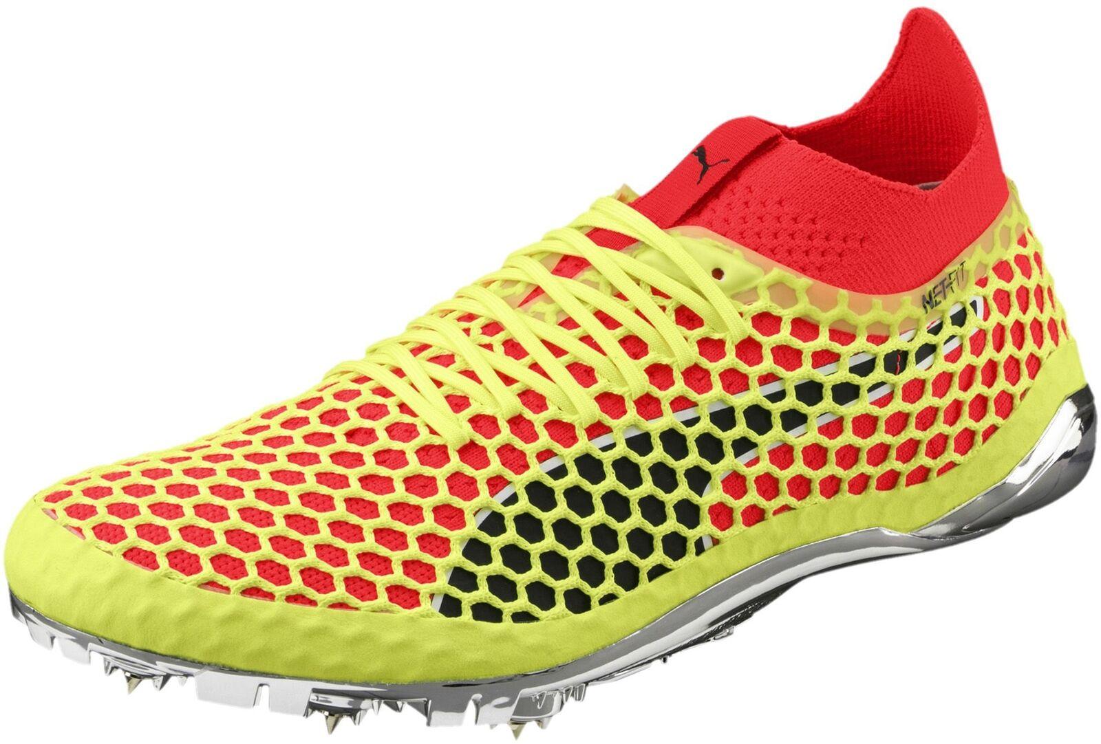Puma evoSpeed Netfit Sprint Running Spikes - Yellow