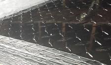 4' x 8' Aluminum Diamond Plate Sheet - BLACK