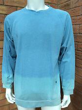 SOULLAND BLUE DIP-DYE SWEATSHIRT BNWT SIZE XL RETAIL £110