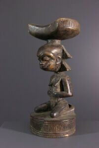 APPUI-NUQUE-LUBA-AFRICAN-ART-AFRICAIN-PRIMITIF-AFRICANA-AFRIKANISCHE-KUNST