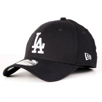 NAVY NEW ERA 39THIRTY FITTED CAP FREE CAP BOX LEAGUE BASIC LA DODGERS
