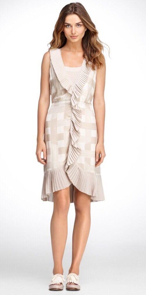 NWT Tory Burch Burch Burch Janette Dress Size 10 5f9856