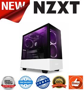 NZXT-H510-Elite-White-Black-Mid-Tower-w-Tempered-Glass-Windows-2x-ARGB-140mm-Fan