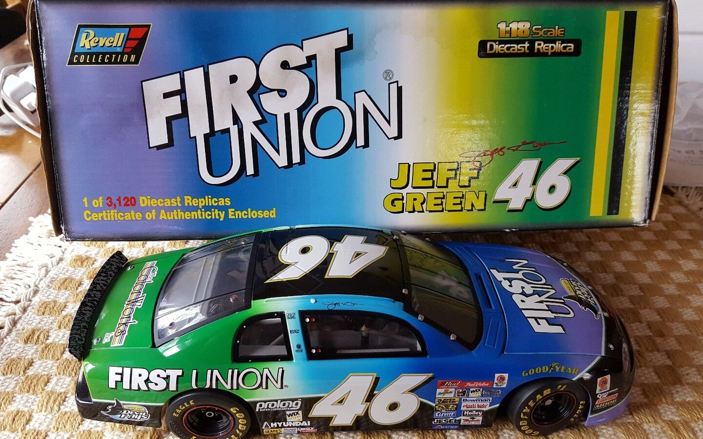 REVELL FIRST UNION JEFF verde  46 [1 18 SCALE] TEAM SABCO