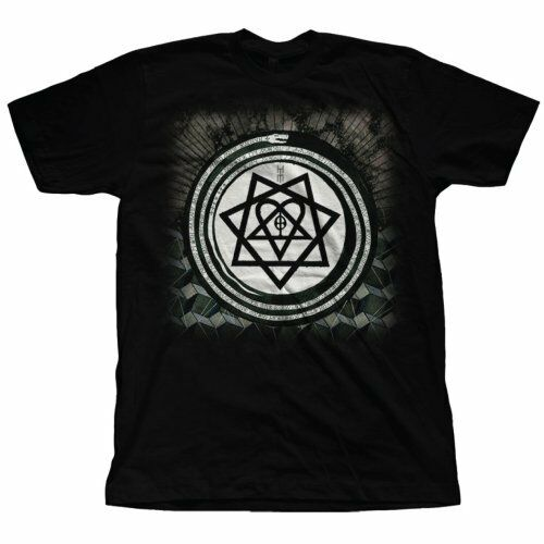 Him - Album Symbols T-Shirt Unisex Tg. M ROCK OFF