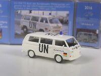 Wiking C&I Sondermodell UN Edition Nr. 4: VW T3 Bundeswehr Militär Polizei