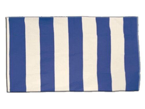 Streifen blau weiß Hissflagge  Fahnen Flaggen 90x150cm