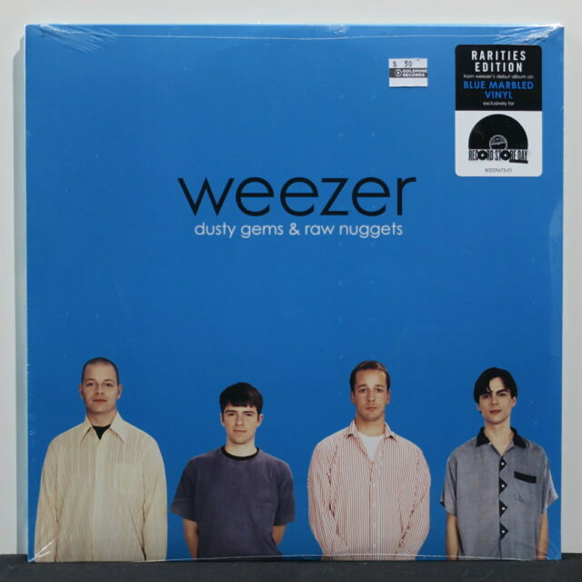 WEEZER 'Dusty Gems: The B-Sides' RSD Ltd Edition BLUE/WHITE Vinyl LP NEW