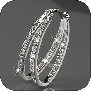 18k-white-gold-gp-hoop-stud-earrings-made-with-SWAROVSKI-crystal-oval-hoops