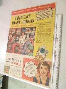 newspaper-ad-premium-CAMEL-CIGARETTES-1944-034-more-doctors-smoke-CAMELS-034-X