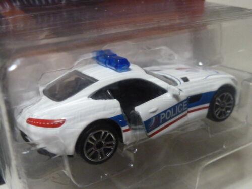 MAJORETTE MERCEDES AMG GT POLICE NATIONALE